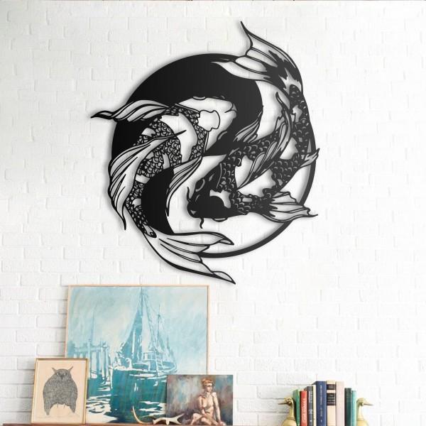 Koi Fish - Yin Yang