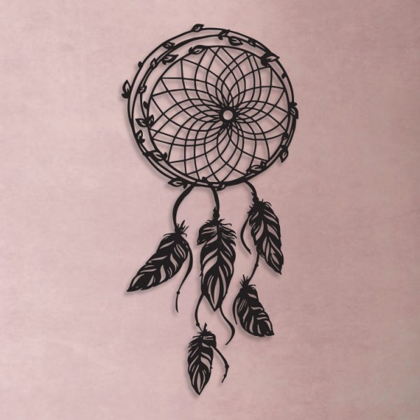 Dream Catcher Metal Tablo